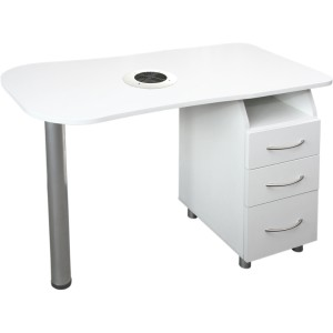 Manicure desk - wide with dust extractor